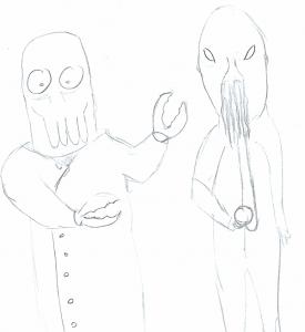 Dr Whe vs Futurama