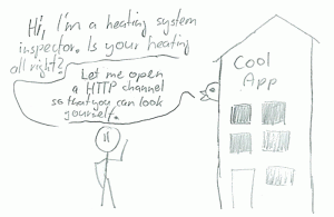 I guess modern heating system do have HTTP interfaces