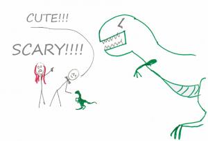 Dinosaurs, uuiiihh!